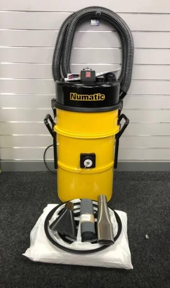 numatic, hazardous dust, chimney sweep, vacuum, hz750