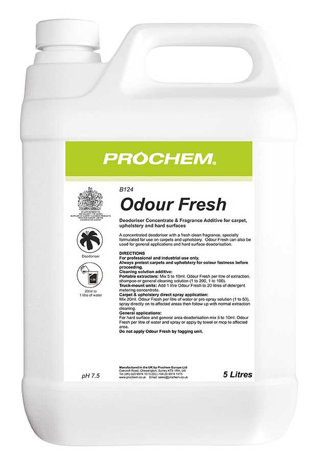 Odour Fresh 5l Wakefield Floorcare