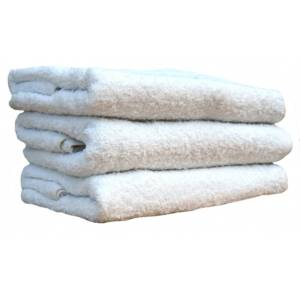 WHITE TERRY TOWELS (QTY – 12)