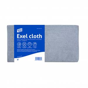 Exel Microfibre Cloth Pkt 10
